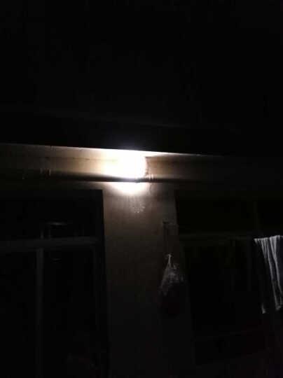 同心 太阳能灯家用室内外照明户外6米线旅行帐篷灯庭院大门口围墙壁篱笆灯 光控感应超亮遥控 3W 30颗贴片 光控+遥控 晒单图