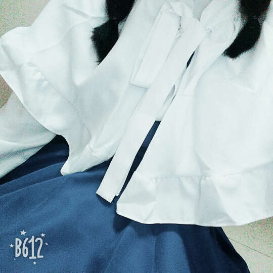 赫搏2018 魔卡少女樱 大道寺知世cos小樱 歌唱家长裙 cosplay日本动漫 服装(帽子+披肩+连衣裙)不含假毛 L(160-170)110斤以上 晒单图
