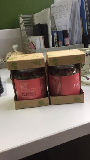 曼宁玫瑰花茶 原装进口玫瑰茶叶 法兰西玫瑰花草茶 女士下午茶 玫瑰花茶40g 晒单图
