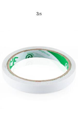 广博(GuangBo)48卷装12mm*10y精装双面胶带棉纸两面胶布办公用品SM-5  晒单图