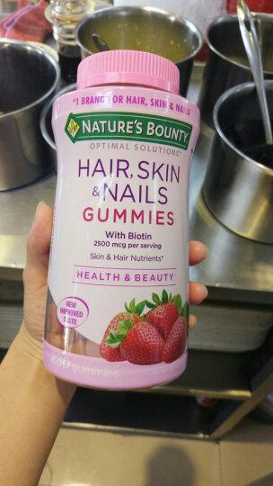 美国进口Nature'sBounty自然之宝头发皮肤指甲胶原蛋白软糖230粒 晒单图