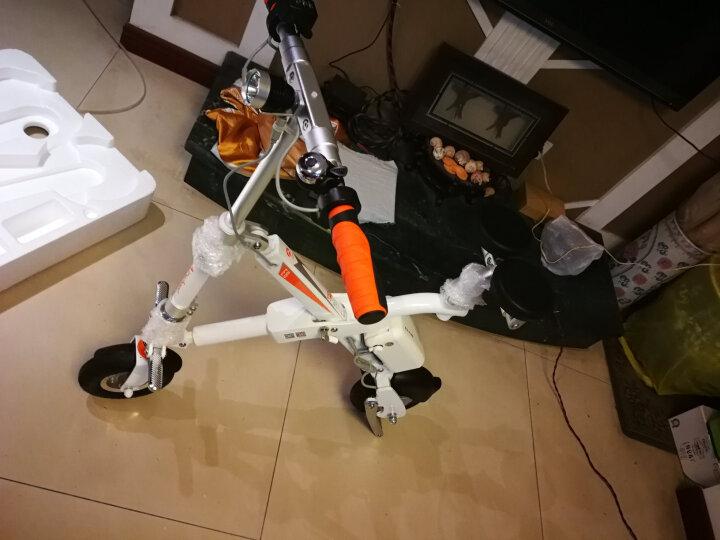 Airwheel 爱尔威E6电动车 电动滑板车自行车折叠代步电瓶车电动摩托车 白色 25公里标准版 晒单图