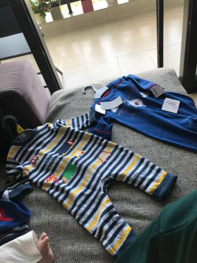 mothercare英国 婴儿连体衣新生儿外出服宝宝爬服帽子2件装 MA767 66cm(66/44) 晒单图