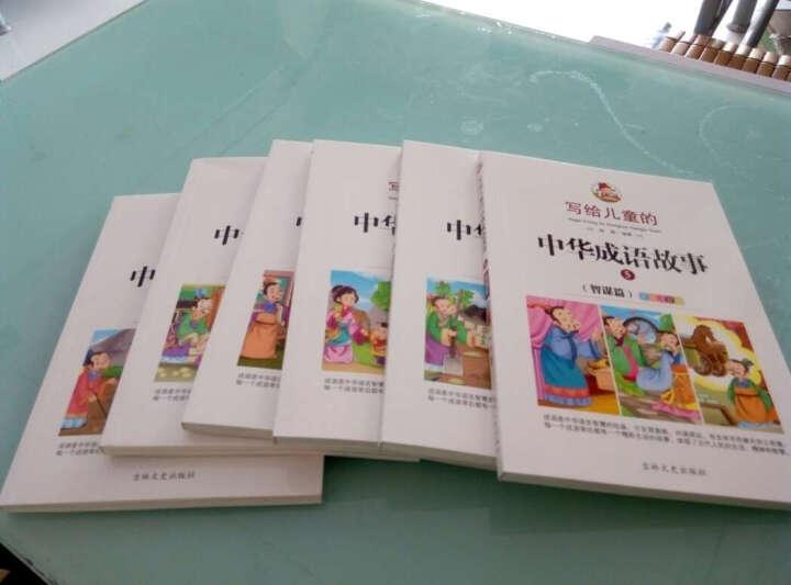 写给儿童的中华成语故事(彩绘注音版共6册) 7-10岁成语大全小学生课外阅读故事书籍 晒单图