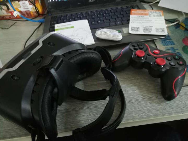 千幻魔镜 虚拟现实智能vr眼镜VR一体机 手机vr游戏机头戴式3D头盔ar9代 升级耳机版+通用游戏手柄+运费险+海量片源 晒单图