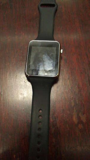 现代演绎【送电池】智能手表男女成人电话手表手机蓝牙iwatch学生儿童插卡定位微信QQ A25四代防水版(蓝色)进水包换 晒单图