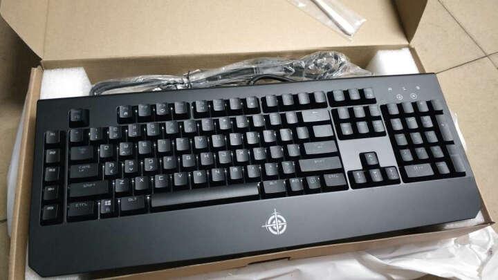 魔炼者(MAGIC-REFINER)1501单色背光方键帽109键游戏机械键盘自营 吃鸡键盘 电脑键盘 笔记本键盘 黑色青轴 晒单图