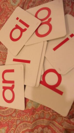 杜曼闪卡 官方总部卡片专家精选卡片 汉语拼音卡片 幼儿升小学宝宝儿童学校教具 拼音字母卡 晒单图