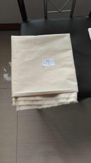 喜淘淘白坯布涤棉纯棉布料画布服装扎染白布设计立裁面料白胚布 1.6米宽斜纹纯棉 晒单图