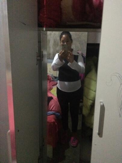 法格娜 连衣裙2019夏装新款韩版气质短袖时尚套装女修身马甲小香风短裙子三件套女装夏季 粉色 XL 晒单图