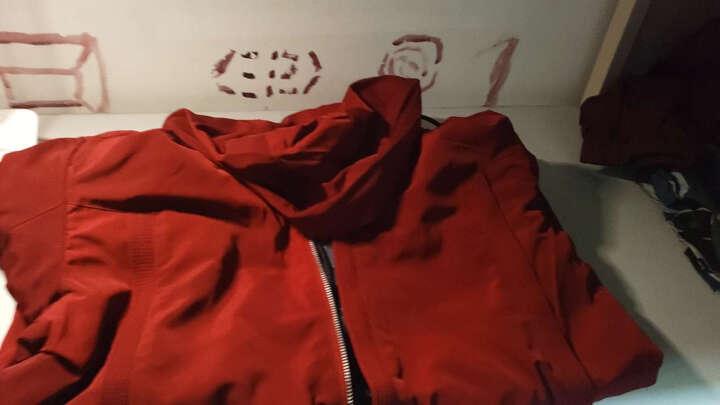 【MOZ】夹克风衣秋动季新款运动外套 夹克风衣运动外套男 户外防晒防水连帽冲锋衣 标准款#深蓝 M(建议90-105斤) 晒单图