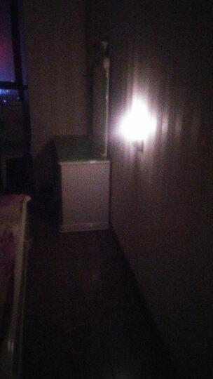 欣兰雅舍(XLYS) 小夜灯led灯喂奶 智能遥控(开关)定时夜光灯 氛围卧室睡眠灯 7号电池 浪漫之旅-黄光 晒单图