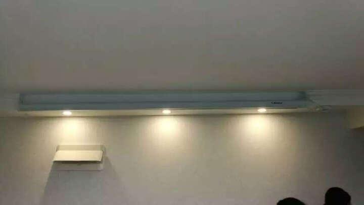 红叶(HONG YE) 120英寸4:3 电动幕布/投影幕布/投影幕/投影机幕布/投影仪幕布/幕布 白色/玻珠 晒单图