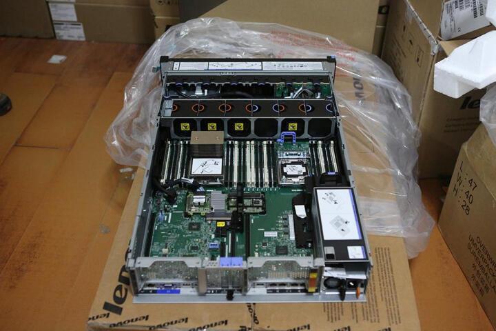 联想(Lenovo) IBM服务器X3650M5 8871i05 2U机架式主机 双颗2603V4 6核1.7G CPU  配单电源 16G内存+2块300G 15K SAS硬盘 晒单图