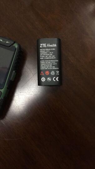 中兴健康(ZTE Health) L628 移动/联通 三防直板老人手机老年手机超长待机 军绿色 晒单图