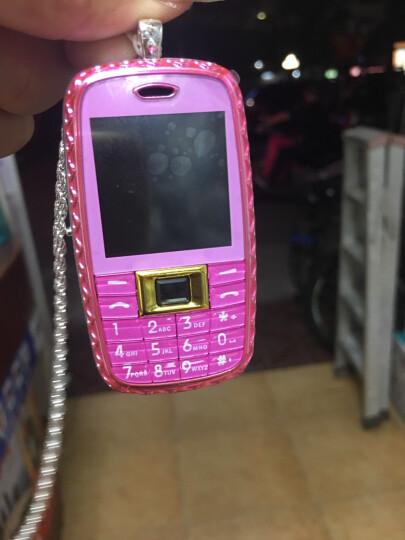 小迷你儿童手机 男女学生卡通手机 可爱凯蒂猫 招财猫 个性定位 袖珍直板小手机 粉色  凯蒂猫 晒单图