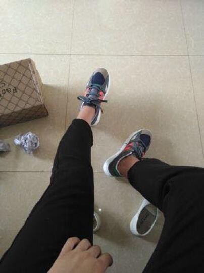 微帕义 休闲鞋子 男韩版潮流学生冬季男士平板鞋男鞋情侣鞋 灰绿色 标准码40 晒单图