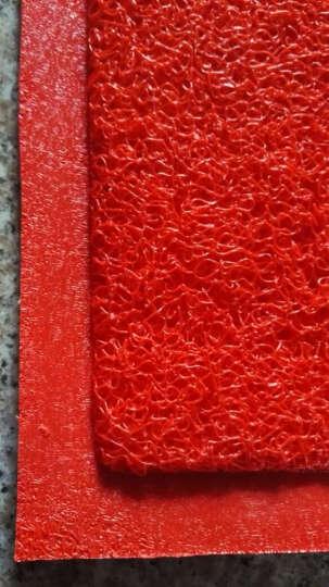 【支持订制】雅姬娜入户门垫欢迎光临地垫门垫除尘脚垫酒店商厦门厅防滑垫 出入平安-绿色 45cm*65cm 晒单图