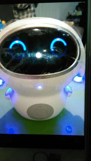 巴巴腾智能机器人小腾远程遥控互动陪伴儿童早教语音对话聊天声控音乐云故事机教育玩具 白色 官方版A1 晒单图
