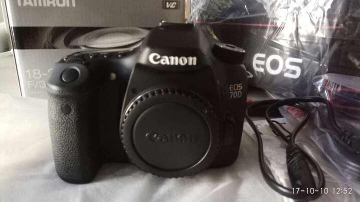 佳能(CANON) 70D/60D/80D/77D/750D/800D单机身中端级数码单反相机套装 佳能80D单机身(无镜头) 官方标配 晒单图