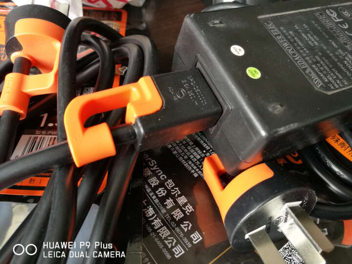 包尔星克 联想华硕戴尔惠普 笔记本适配器电源线 抗摇摆梅花头三孔直插 1.5米(PowerSync)PWC-KNB150 晒单图