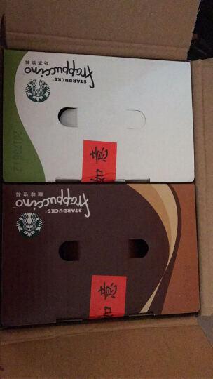 星巴克(Starbucks)速溶咖啡星冰乐白咖啡饮料瓶装 抹茶味奶茶281ml*6瓶 整箱 晒单图