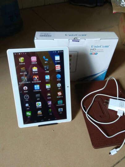 Uniscom 紫光电子通话平板电脑10.1英寸MZ63八核安卓手机 【博雅黑】64G 送原装皮套+12重豪礼+三年换新 购机送礼包 晒单图