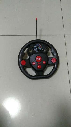 DZDIV 方向盘遥控车 越野车儿童玩具大型遥控汽车模型耐摔配电池可充电388-12红色 晒单图