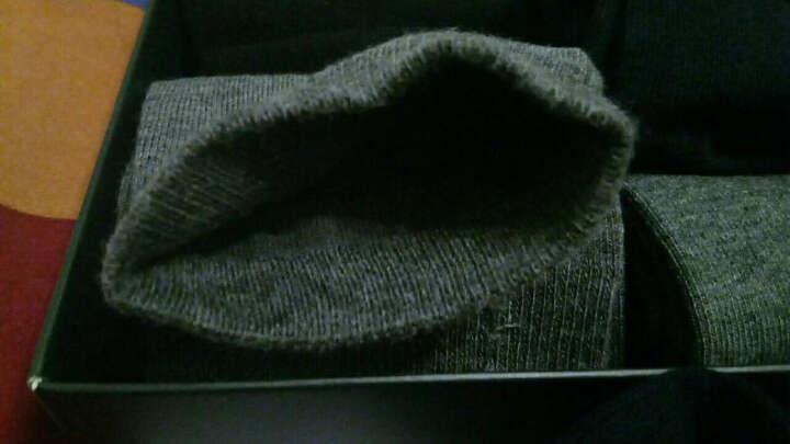 与狼共舞袜子男船袜短袜时尚休闲运动浅口短袜子 85762 混色 均码六双 晒单图