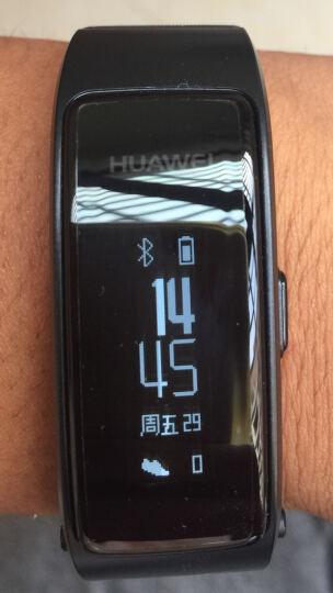 华为(HUAWEI)华为手环 B3 青春版 蓝牙耳机 智能手环 接电话  计步 卡路里 睡眠 闹钟 黑色 晒单图