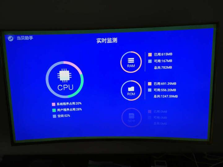 海尔 (Haier) LQ65S81 65英寸 4K曲面安卓智能UHD超高清LED液晶电视(金色) 晒单图