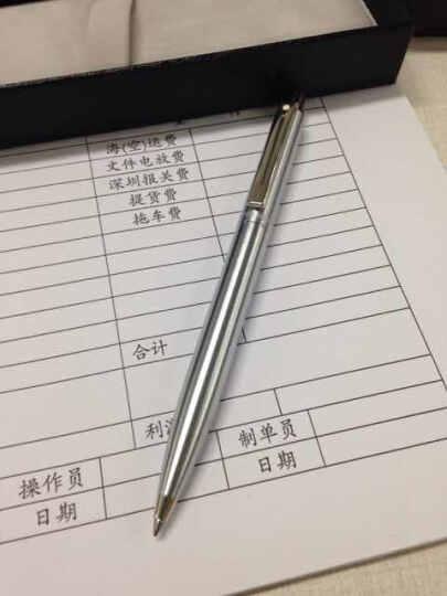 犀飞利 美国 sheaffer Sentinel系列 圆珠笔 原子笔 钢杆银夹 323 晒单图