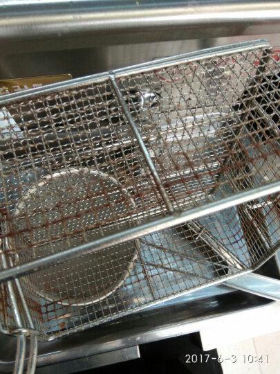 道升(DAOSHENG) 欧式单缸电炸炉商用油炸锅油条机炸鸡排炸薯塔薯条机油炸机电炸锅 301v   单缸  30L 晒单图