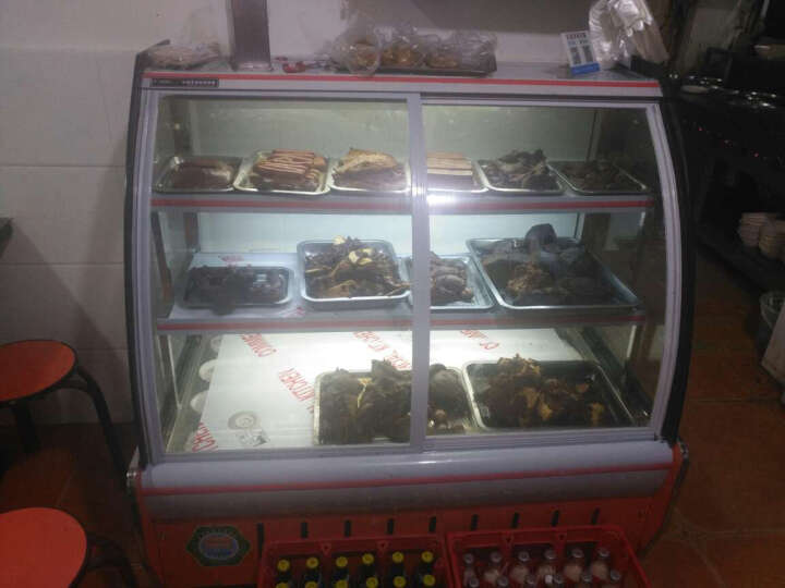乐创(lecon)熟食展示柜卤菜熟食柜 鸭脖直冷蛋糕柜冷鲜肉冷藏保鲜柜 2米冷藏后开门 晒单图