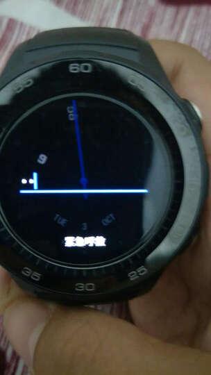 华为(HUAWEI) 手表Watch2/Pro/2018智能手表电话独立通话运动心率男女款 星空灰︱蓝牙版(送钢表带) 官方标配 晒单图