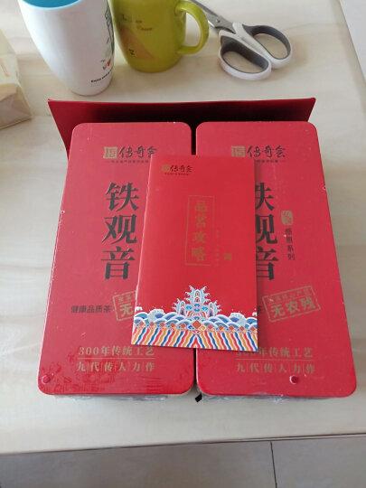 传奇会茶叶 安溪铁观音茶叶浓香型 2019新茶传统炭焙浓香型乌龙茶盒装250g 晒单图