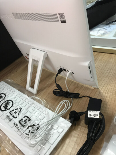 联想(Lenovo) AIO 310-20/300 商用办公家用一体机电脑 企业采购 21.5英寸/银色G3900T/4G/1T 晒单图