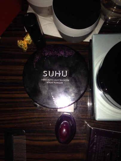 尚惠(SUHU) 丝滑刮刮粉10g  持久定妆粉细腻散粉粉饼蜜粉 2#嫩肤色 晒单图