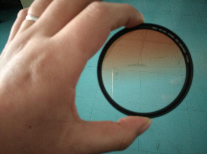 缔造者(DIZA) 缔造者超薄圆形渐变镜 特效滤镜  单反配件49/52/55/58/67/77mm 超值四色套装 72mm 晒单图