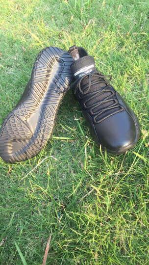 镖王保罗男靴头层牛皮工装马丁靴男韩版运动棉靴真皮短靴子 65656黑色-单鞋款 41 晒单图
