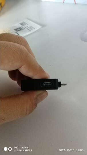 优越者(UNITEK)Y-C4019EBK MicroUSB A公对USB2.0母头OTG数据线黑色 安卓手机平板电脑连接U盘鼠标连接线 晒单图