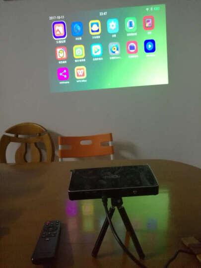 投美科技(TOUMEI)掌上微型投影仪 便携迷你 家用wifi手机投影机家庭影院 V3 新升级3D高清智能影院 晒单图