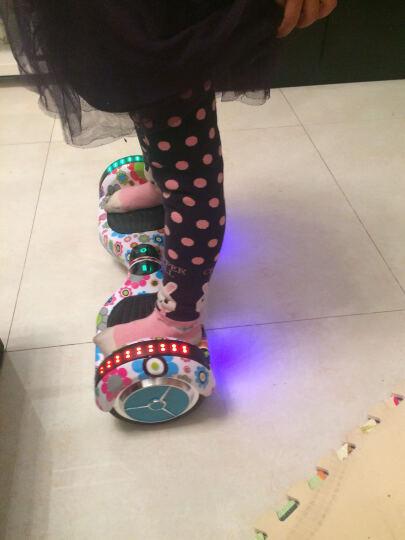 铠美尔 7/10寸大轮成人儿童智能平衡车两轮双轮体感电动思维车自平衡扭扭漂移车 升级手提迷彩蓝自平衡跑马灯蓝牙LED灯遥控车包护具 升级MAK电机(20-极限45公里) 晒单图
