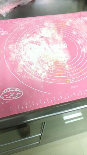 尚烤佳 硅胶垫 揉面垫 不粘案板 带标尺面板 烘焙揉面案板垫 硅胶案板餐垫大号 晒单图