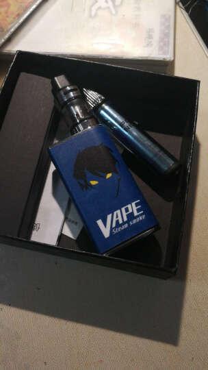 巴索敦Q2电子烟套装 大烟雾蒸汽戒烟器新款蒸汽香烟 标准装 银色(烟油2瓶+雾化芯1个+贴纸1张) 晒单图