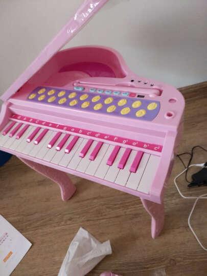 贝芬乐(buddyfun)儿童电子琴 益智玩具乐器带音乐话筒天籁精灵迷你钢琴88032粉色 晒单图