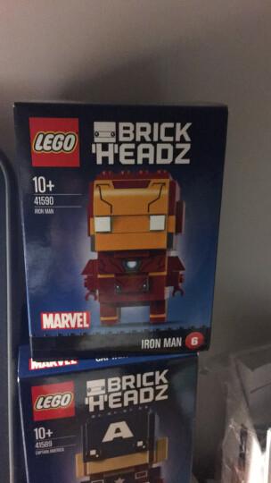 乐高(LEGO)积木玩具 大头公仔方头仔系列 钢铁侠 41590(18年停产) 晒单图