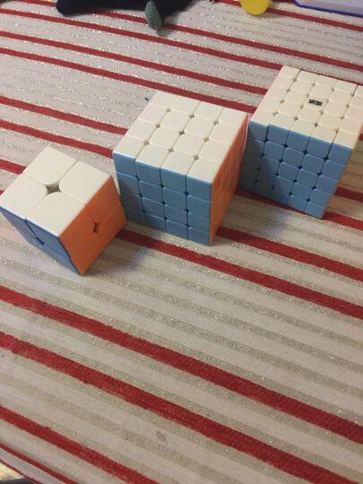 魔域文化 威龙GTS2代3阶魔方234567阶比赛专用魔方玩具二三四五六七阶顺滑减压免运费 傲世6阶彩色 晒单图