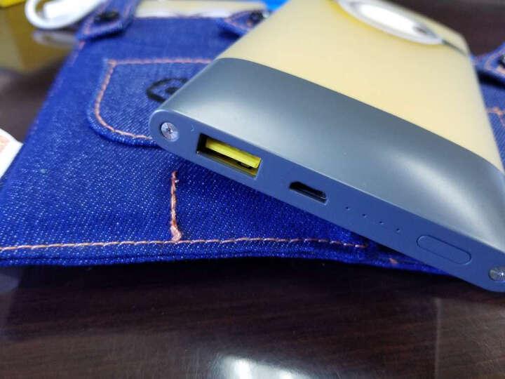 魅族(MEIZU)魅蓝M20双向闪充移动电源 草绿 24W双向快充 适用于安卓/苹果/手机/平板等 晒单图