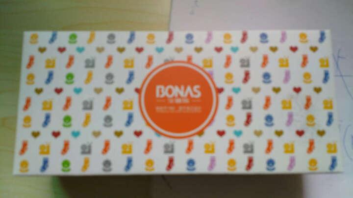 宝娜斯(BONAS)儿童袜子男童女童宝宝棉袜秋冬季保暖袜子5双装 10-12岁 QD15-21 晒单图